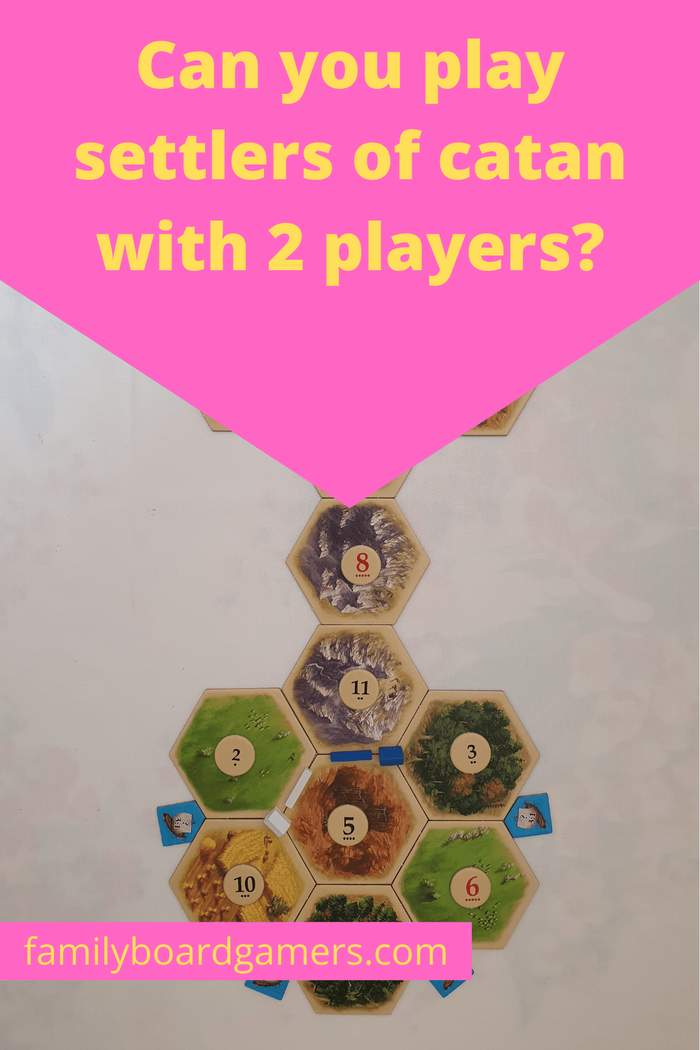 Can you play Settlers of Catan with two players? Here's how.